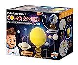 Un giocattolo educativo per scoprire il sistema solare e i suoi 8 pianeti! I pianeti ruotano rispettando i cicli di rivoluzione su una durata di 35 minuti Il sole al centro s'illumina come una lampada 2a attività: trasforma il tuo modello posizionand...