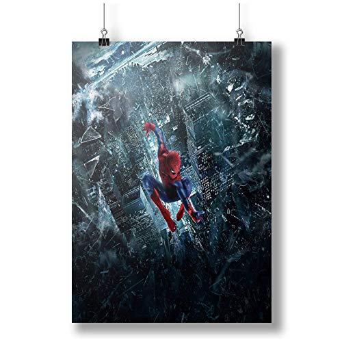 SPIDERMAN A0 A1 A2 A3 A4 Affiche photo en satin p10393h