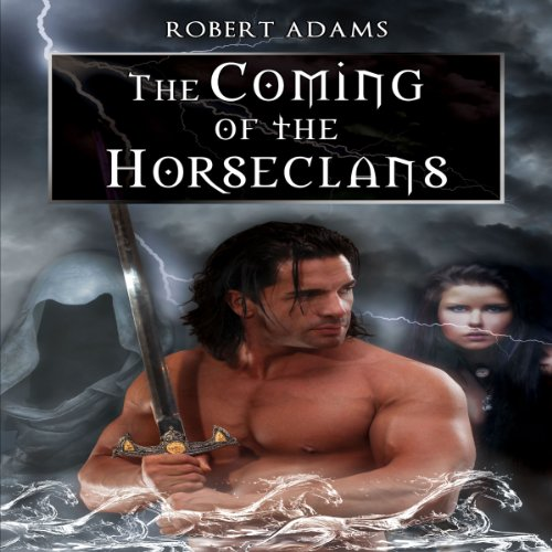 The Coming of the Horseclans audiobook cover art