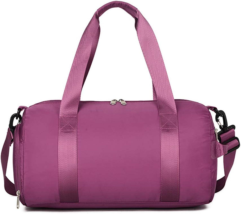 Dry and Wet Separation Sports Bag, Dance Swimming Outdoor Travel Yoga Fitness Handbag 48x24x23cm