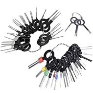 Terminal Ejector Kit 39 Stück, Auto Kit Auto Terminal Removal Connector, Set Pin Ejector Wire Kit Extractor