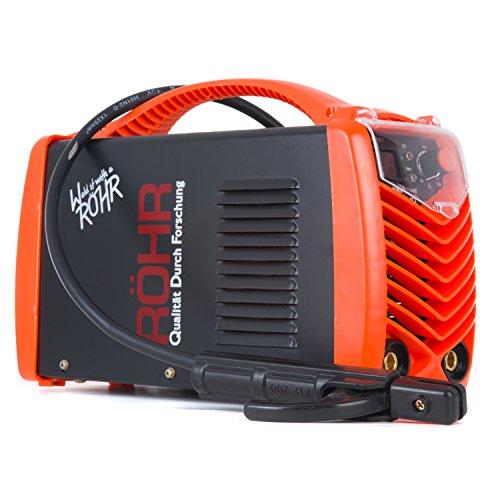 Röhr MMA 250FI ARC Welder Inverter Gasless 250 Amp DC Anti-Stick Welding Machine Hot Start IGBT...