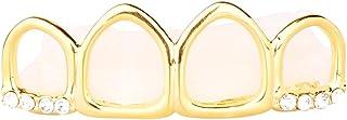 4 denti oro grill – Taglia unica – Hollow top