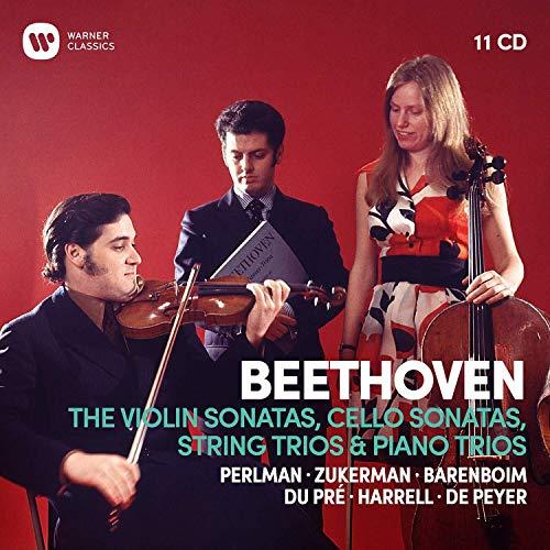 Sämtliche Violin-& Cellosonaten/Klaviertrios