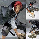 ZYBZGZ Bellamente One Piece Akakami Keine Shankusu 14CM Action-Figur-4 Kaiser Red Hair-Figur Dekorat...