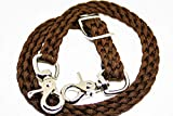 wither strap horse tack walnut brown