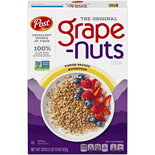 Post Grape-Nuts Non GMO Breakfast Cereal, 29 Ounce (Pack of 10)
