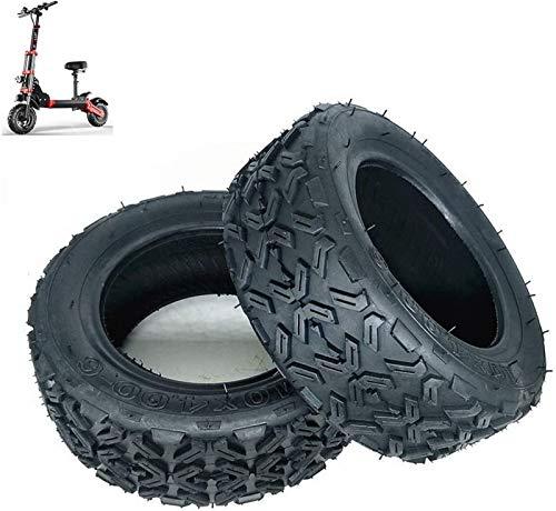 JJDSN Neumáticos para patinetes eléctricos Ruedas duraderas, Neumáticos Todoterreno de vacío 10X4.00-6,...