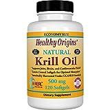 Healthy Orgins Krill Oil Gels, 500 mg, 120 Count