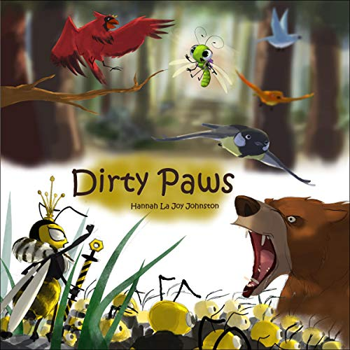 Dirty Paws audiobook cover art