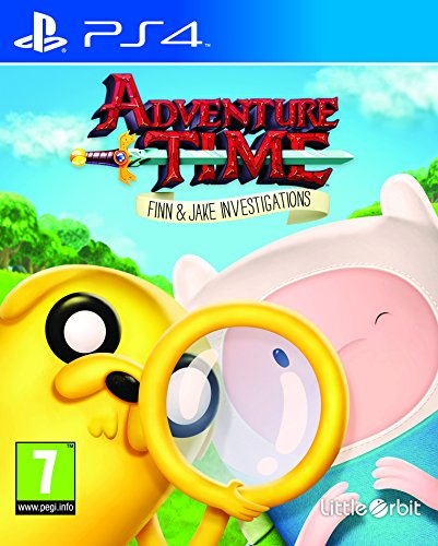 Ps4 Adventure Time : Finn and Jake Investigations (Eu)