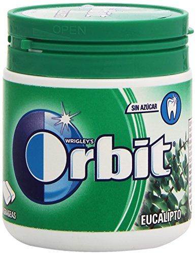 Orbit Bote Chicle sin Azúcar, Eucalipto, Pack de 60 Unidades