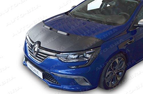 Auto-Bra AB3-00038 kompatibel mit Renault Megane seit 2016- Haubenbra Steinschlagschutz Tuning Bonnet Bra