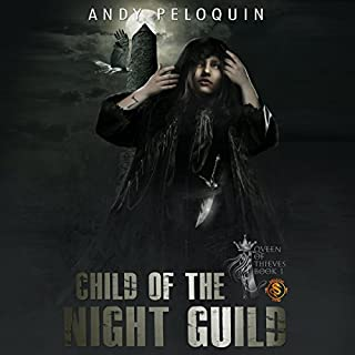 Child of the Night Guild audiobook cover art