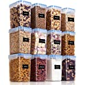12 Piece Vtopmart 1.5qt / 1.6L Airtight Food Storage Containers