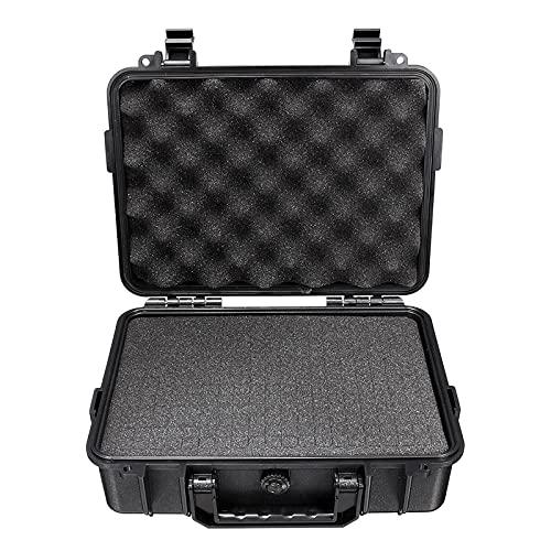 Caja de herramientas de servicio Duro impermeable  Llevar la caja de transporte de plástico con espuma  Caja de herramientas Caja de almacenamiento Protector de seguridad Organizador Hardware Hardwa