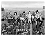 Friends Over New York NY TV Romantic Sitcom Television Show Postcard Poster Print, Unframed 11x14