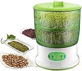 Automatic Sprouter Machine Bean Sprouts Growing Machine-Máquina automática de brotación Máquina de cultivo de brotes de soja Herramientas de brotación de plántulas de gran capacidad (3 LAYER)