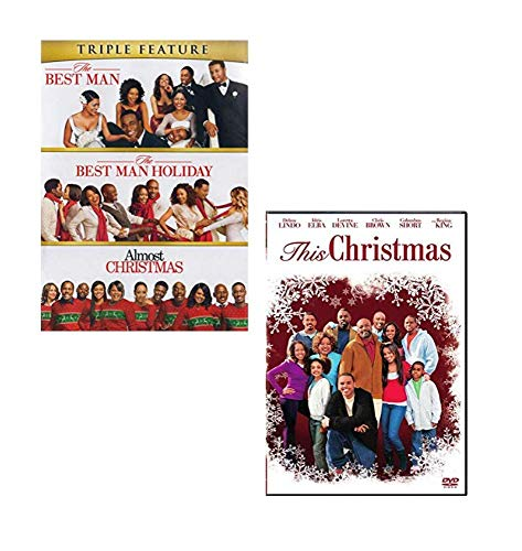 Christmas 4-Movie Romantic Comedy DVD Collection: Almost Christmas / The Best Man / Best Man Holiday / This Christmas