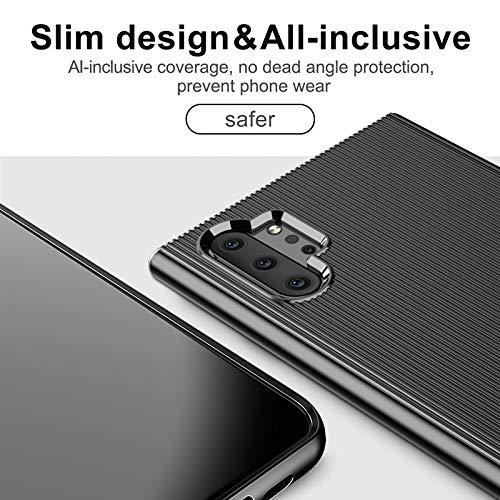 AXRXMA Crack Slim Smartphone Funda for Samsung Galaxy Note 10 ...