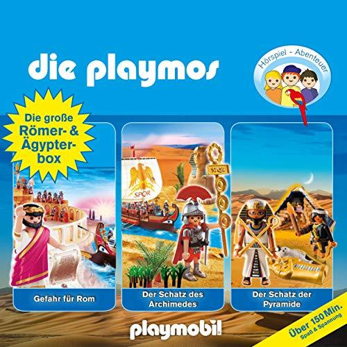Die große Römer- und Ägypterbox. Das Original Playmobil Hörspiel Titelbild