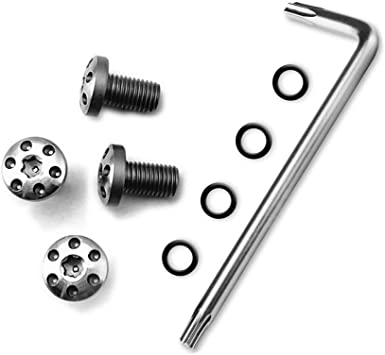 Cool Hand Customize 1911 Grips Screws,4 Stainless Steel Screws,4 O Rings,Torx Key