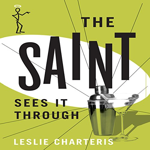 The Saint Sees It Through audiobook cover art