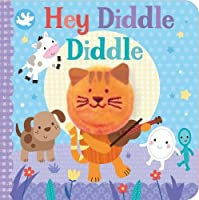 Little Learners Hey Diddle Diddle Finger Puppet Book