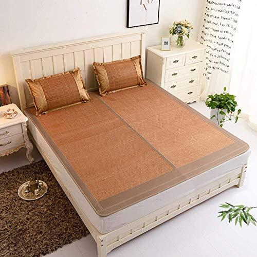 DFJU Colchón superpuesto para Dormitorio, Cama Individual de bambú, Duradera, Suave, para Aire Acondicionado, 180x200cm