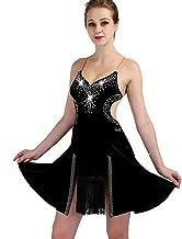 New Latin Dance Dress Salsa Tango Cha cha Ballroom Rhinestone ...