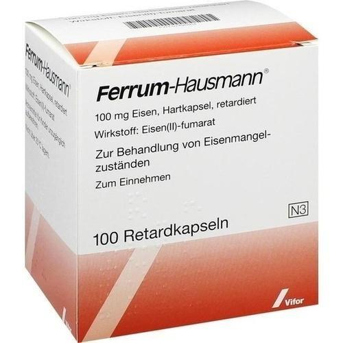 FERRUM HAUSMANN Retardkapseln 100 St