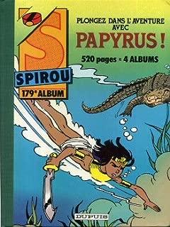 Spirou - reliure n° 179 - 2455 (30-04-85) à 2464 (02-07-85) - 1985 - couverture De Gieter (Papyrus)