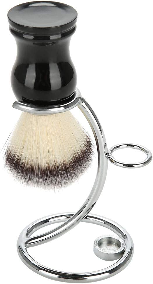 Xinwoer Men's High order Shave Tool Kit Shaving Price reduction Brush Stand Portable Curved
