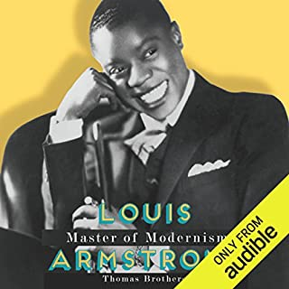 Louis Armstrong, Master of Modernism audiobook cover art