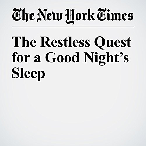 The Restless Quest for a Good Night's Sleep cover art