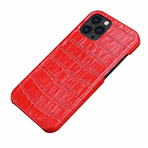 Funda para iPhone 12 Pro Max, LVMCMKS de piel de cocodrilo, funda de piel de alta calidad, clásica moda para iPhone 12 Pro Max 2020 de...