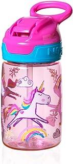 Trinkflasche Pop Up 360 ml mit Leuchtring 18m+ Rosa