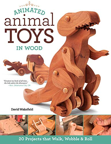 Compare Textbook Prices for Animated Animal Toys in Wood: 20 Projects that Walk, Wobble & Roll Fox Chapel Publishing Patterns & Directions for Making Dinosaurs, a Shark, Duck, Turtle, Wolf, Frog, Hippo, Dog, & More for Kids First Edition ISBN 9781565238442 by Wakefield, David