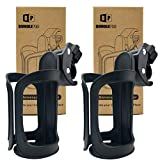 Best Bike Cup Holders - Pack of 2 Stroller Cup Holders, Universal Drinks Review