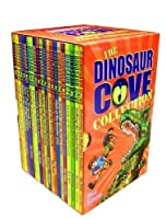 Dinosaur Cove Collection - 20 books box set RRP £99.80 (Haunting of the Ghost Runners, Attack of the Lizard King, Charge of the Three-horned Monster, Armoured Beasts, Winged Serpent, Giant Reptiles, Rampage of the Hungry Giants) (Dinosaur Cove)