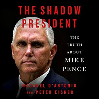 The Shadow President audiobook cover art