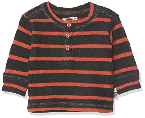 Imps & Elfs B Pullover Long Sleeve Pull, Multicolore (Blue Graphite Stripe P342), 74 Bébé garçon
