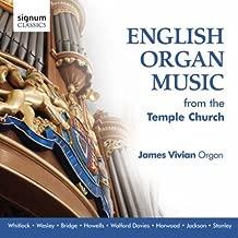 English Organ Music from Temple Church (James Vivian) by James Vivian