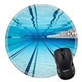 MSD Natural Rubber Mousepad Round Mouse Pad 17179241 swimming pool under water