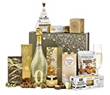 Thornton & France 'Yule Gift Box' Luxury Christmas Hamper with Prosecco & Popcorn   Sweet & Savoury Treats To Share   Fizz Filled Afternoon Tea   8 Delicious Items
