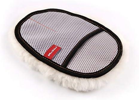 Maxshine Premium Sheepskin Wool Mitt Real Lambs Wool Car Wash Glove Car Cleaning Ultra Soft product image