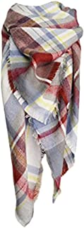 Spring fever Winter Soft Fashion Tartan Checked Plaid Warm Lattice Large Scarf