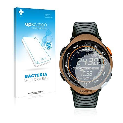 upscreen Antibakterielle Schutzfolie kompatibel mit Suunto Vector Marron Brown klare Bildschirmschutz-Folie