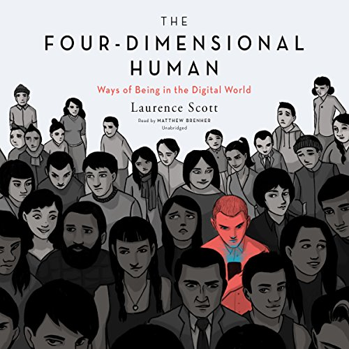 The Four-Dimensional Human audiobook cover art
