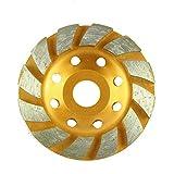 100mm 4' Taza De Molienda Diamante Piedra De Mármol Hormigón Lijado Disco de rueda